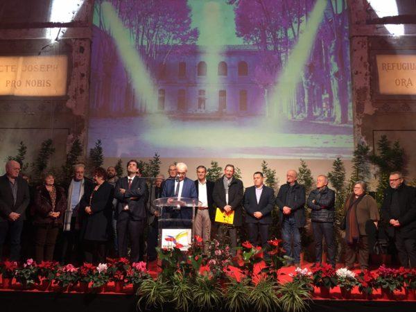 Vœux de la Communauté de Communes de la Vallée de l'Hérault à Aniane