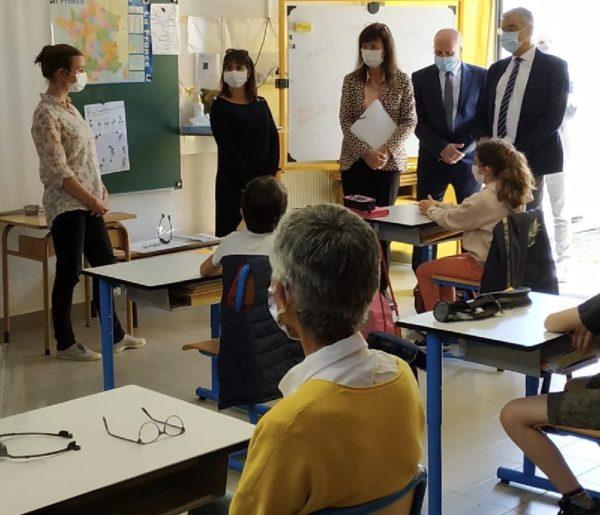 Retour en classe des élèves
