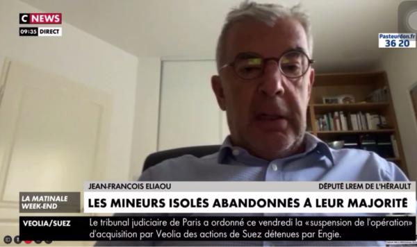 Mineurs isolés : Jean-François ELIAOU est l'invité de CNEWS