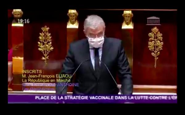 Débat à l'Assemblée nationale sur la stratégie vaccinale contre la Covid-19