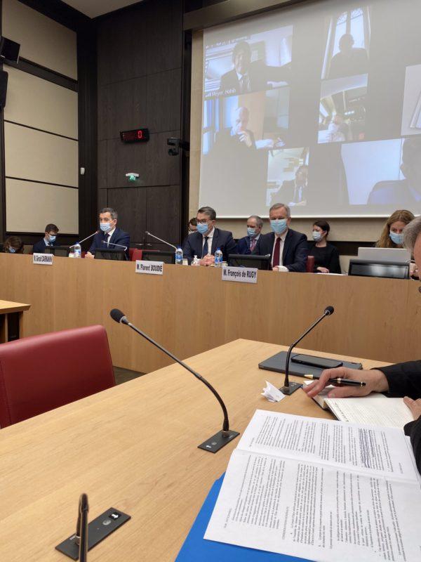 Commission spéciale PJL confortant les principes de la République : auditions des ministres G. DARMANIN et JM BLANQUER