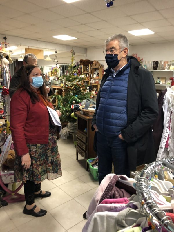 Visite du Secours Populaire de Lodève