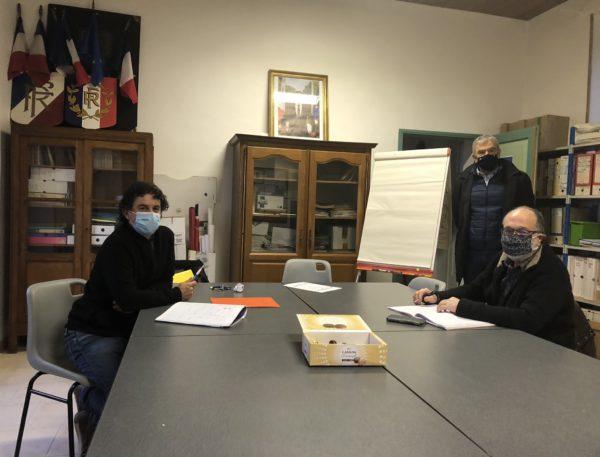Rencontre avec C. ROMO, Maire d'Omet-et-Villecun