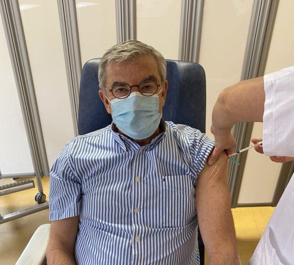 Jean-François ELIAOU vacciné contre la COVID-19