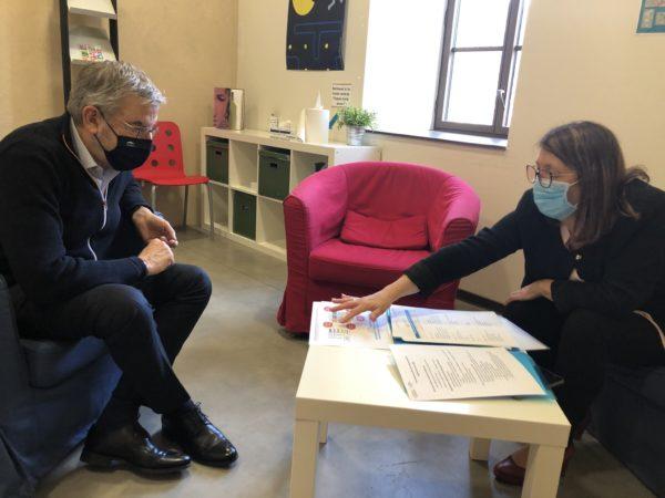 Lodève : Jean-François ELIAOU à la rencontre des acteurs associatifs et économiques