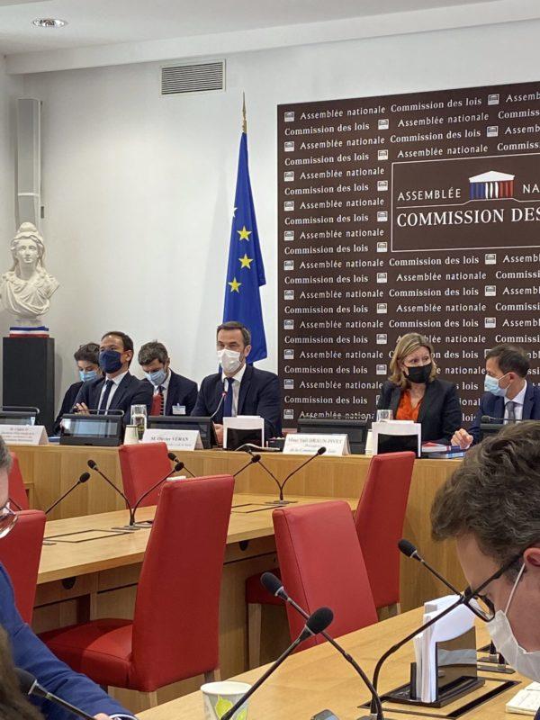 Loi relatif à la gestion de la sortie de la crise sanitaire : audition d'Olivier VERAN et Cédric O