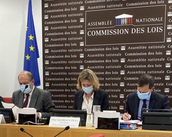 Loi Confiance en la Justice : audition en Commission des Lois