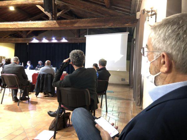 Jean-François ELIAOU présent à la réunion de la Cellule de crise Gel de la Chambre d'Agriculture de l'Hérault