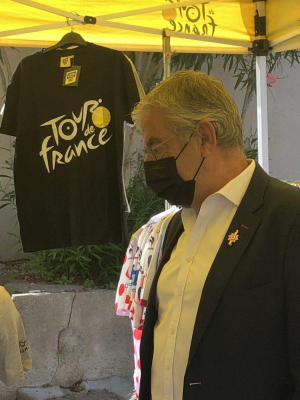 La 13e étape du Tour de France de passage dans la 4e circonscription