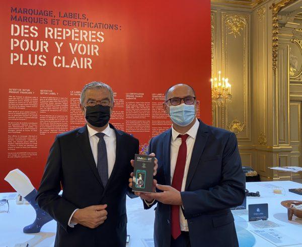 """Exposition """"Fabriqué en France"""" : Jean-François ELIAOU convié à l'Elysée"""