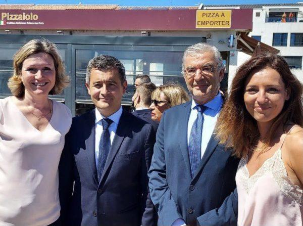 Palavas-les-Flots et la Grande Motte : Jean-François ELIAOU accueille le Ministre de l'Intérieur, Gérald DARMANIN